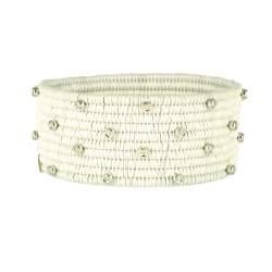 Bracciale in ceramica con diamanti ct 0.54   - ROBERTO DEMEGLIO